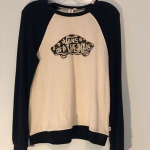Vans crew neck sweatshirt